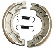 125-150СС тормозные колодки(ZS 125J диск18) на 13 задние барабанные